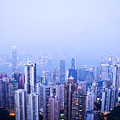 Hong Kong Skyline by Ray Laskowitz - Printscapes