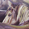 Horse World Detail by Gina De Gorna