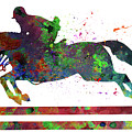 Horseback Riding by Elena Kosvincheva