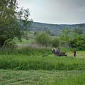 Horsedrawn Haycart, Transylvania 2 by Perry Rodriguez
