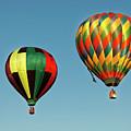 Hot Air Balloons by Robert Urwyler