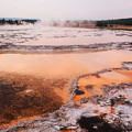 Hot Springs In Yellowstone. by Jeff Swan