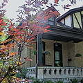 House In German Village by Mindy Newman