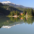 House On Green Lake Whistler B.c Canada by Pierre Leclerc Photography