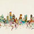 Houston Texas Skyline by Bri Buckley