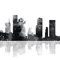 Houston Texas Skyline by Marlene Watson