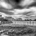 Hudson Beach by Howard Salmon