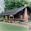 Huffman Log Cabin by Larry Braun