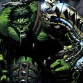 Hulk by Mery Moon
