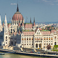 Hungarian Parliament Building Budapest Hungary by Matthias Hauser