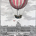 Hydrogen Balloon, 1783 by Granger
