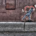 I Heart Ny Street Art 4 by Randy Aveille