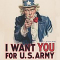 I Want You For U S Army 1917 by Movie Poster Prints