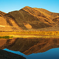 Ibex Hills Reflection by James Marvin Phelps