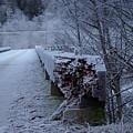 Ice Bridge by Cindy Johnston