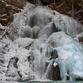 Icy Flow Of Water by Jeff Folger