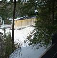 Icy River by Linda Kerkau