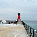 Icy Walk by Linda Kerkau