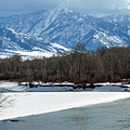 Idaho Winter River by Ann Keisling