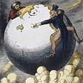 Imperialism Cartoon, 1876 by Granger