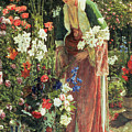 In The Bey's Garden by John Frederick Lewis