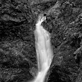 Indian Well Flows Bw by Karol Livote