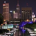 Indianapolis Canal View by Frozen in Time Fine Art Photography
