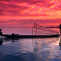 Inle Lake Fisherman by Gloria & Richard Maschmeyer - Printscapes