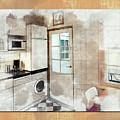Interior Sketch  by Ariadna De Raadt