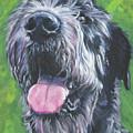 Irish Wolfhound by Lee Ann Shepard