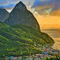 Island Sunset by Scott Mahon