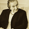 Israel Prime Minister Golda Meir 1973 by Library Of Congress