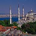 Istanbul's Blue Mosque by Michele Burgess