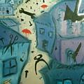 It Is Raining In My Little Village by Zsuzsa Sedah Mathe