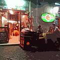 Italian Restaurant At Night by James Hill