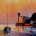 Italy - Trieste Gulf by Leonid Afremov