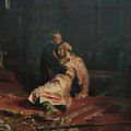 Ivan The Terrible And His Son Ivan On November 16, 1581 by Ilya Repin