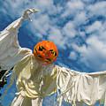 Jack-o-lantern Man by Javier Flores