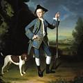 Jacob Morland Of Capplethwaite by George Romney