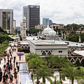Jamek Mosque In The Heart Of Kuala Lumpur Business And Financial by Didier Marti