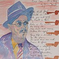 James Joyce by Roger Cummiskey