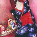 Japanese Girl by Maya Manolova