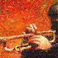 Jazz Trumpeter by Yuriy Shevchuk