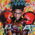 Jean Michel Basquiat by Richard Day