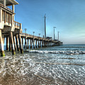 Jennettes Pier Nags Head North Carolina by Greg Hager