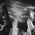 Jet Over Michigan Avenue by Pixabay
