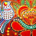 Jinga Bird by Fareeha Khawaja