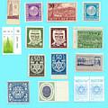 Jnf Stamps  by Ilan Rosen