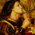 Joan Of Arc by Dante Gabriel Rossetti