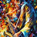 John Coltrane by Leonid Afremov